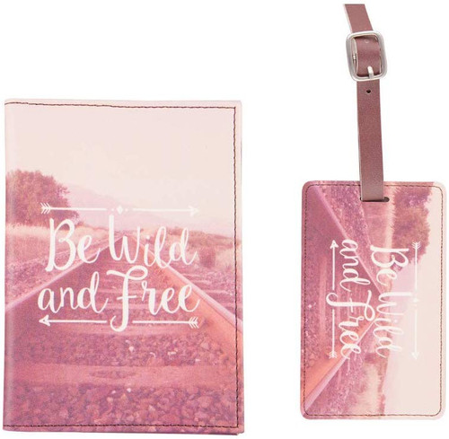 Wanderlust Adventure Passport, Card Holder and Luggage tag