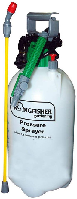 Kingfisher Pressure, Sprayer, Transparent, 8 Litre