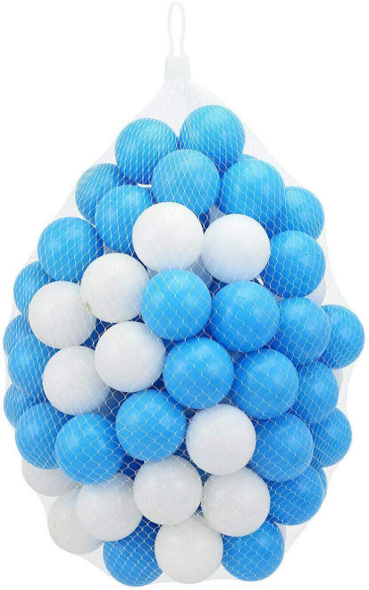 B4E 100 Blue and White Balls