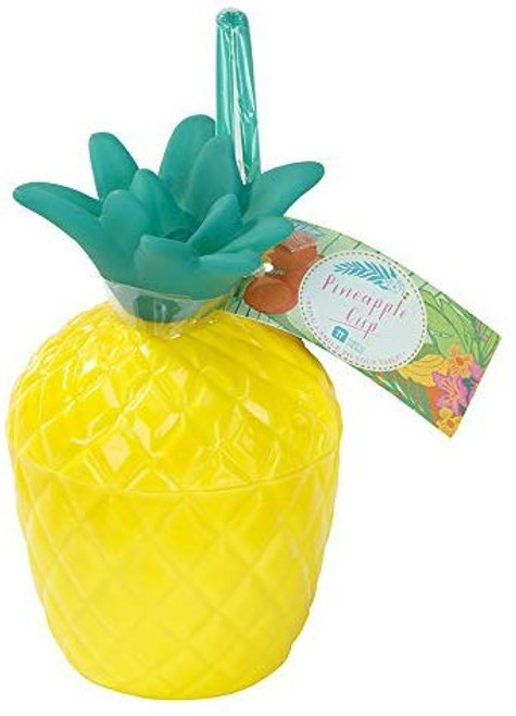 Talking Tables Tropical Fiesta Party Plastic Pineapple Cup