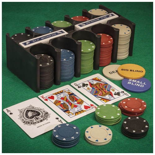 Texas Hold'em Poker Chips Set
