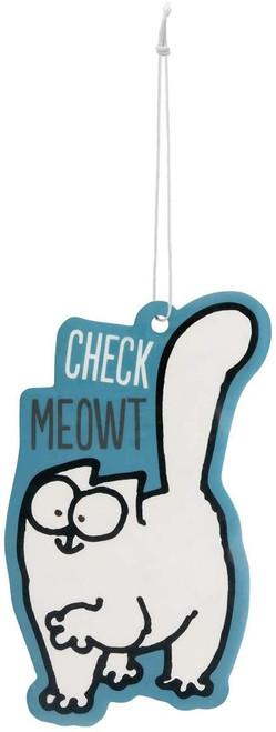 Simon's Cat Check Meowt Air Freshener
