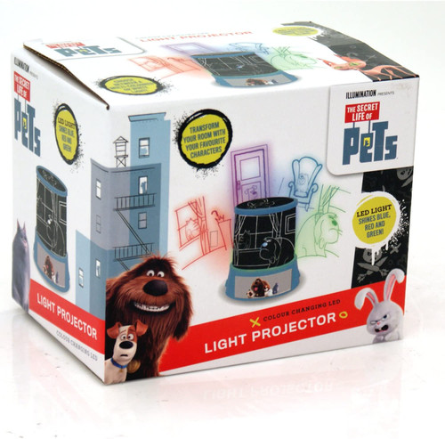 Secret Life of Pets Light Projector