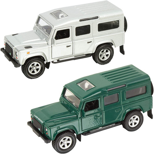 Teamsterz Die-cast  Defender | Kids Metal Toy Farm Vehicles Great For Children Aged 3+