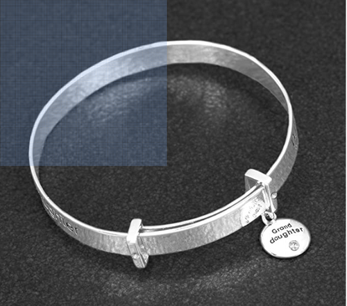 Silver Plated Granddaughter Bracelet