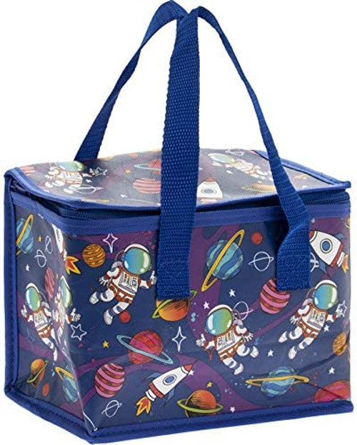 Little stars Spaceman School Lunch dinner Bags Insulated Cool Bag Picnic Lunch box Childrens Adults