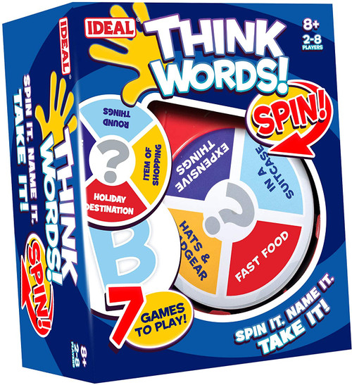 Think Words Spin Game