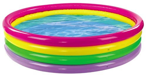 Wild and Wet Giant 4 Ring Rainbow Pool