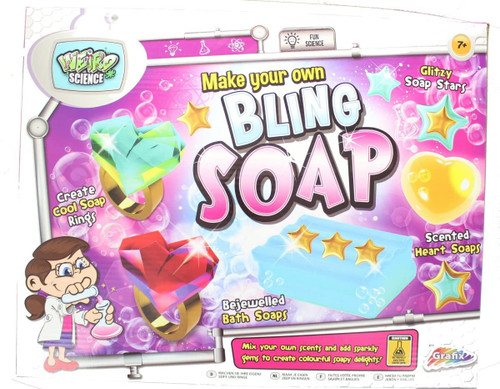 Weird Science Make Your Own Bling Soap Kit Childrens Activity Set