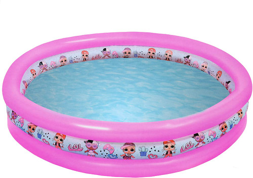 L.O.L. Surprise ! Kids Pool Toys Inflatable| Kids Pools For Gardens | Paddling Pools For Kids | Lol Dolls Swimming Pool | Outdoor Paddling Pool | Inflatable Pool Toys | Pink Paddling Pool LOL Dolls