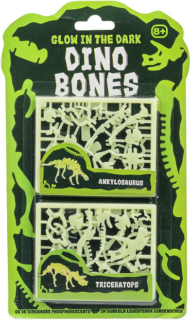 GLOW IN THE DARK DINO BONES