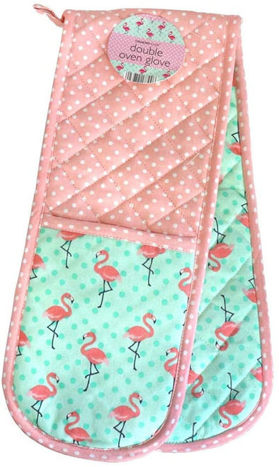 Double Oven Gloves - Assorted Designs