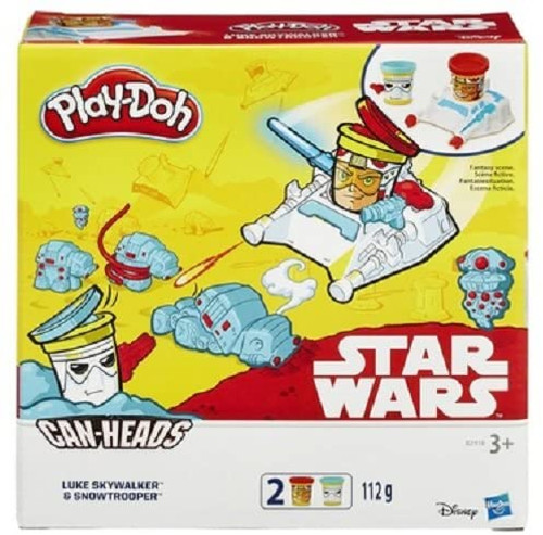 Play-Doh B0595 Star Wars Can Heads Assorted Toy