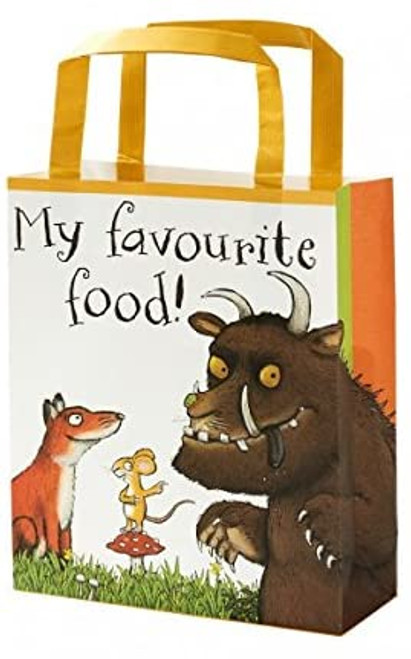 The Gruffalo Paper Treat Party Bags with Handles for Kids Birthday and Party, Multicolour