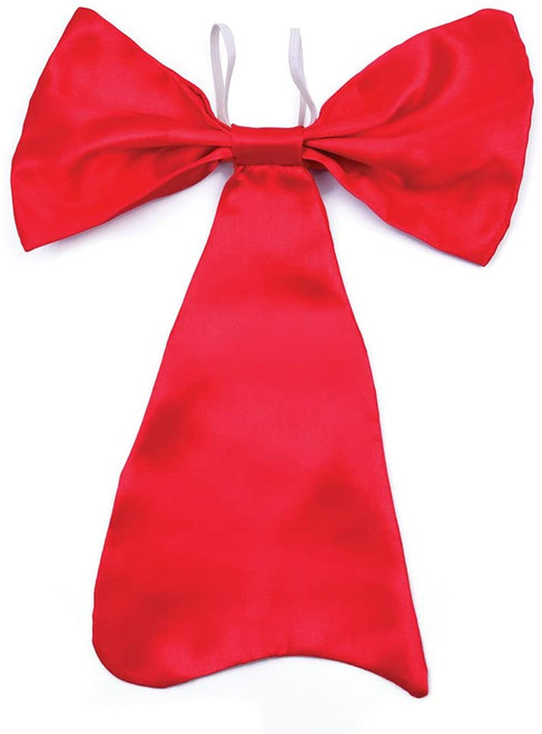 Bristol Novelty  Bow Tie Large Red, Mens, One Size