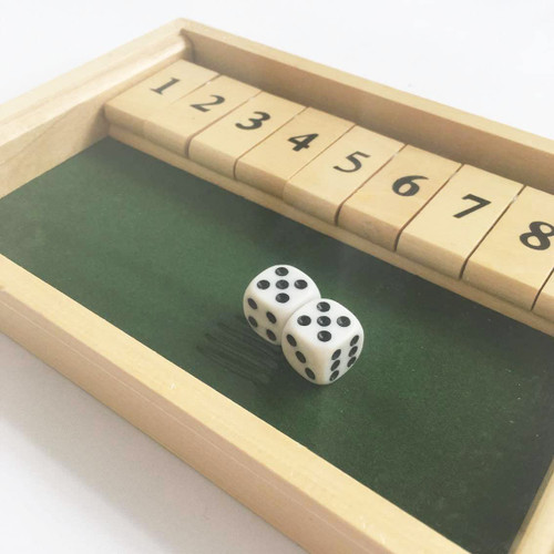 Shut the Box Educational Numeracy Skills Game Gift