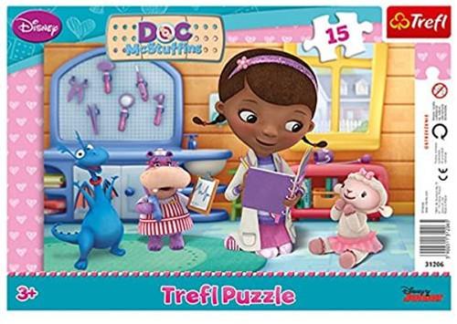 """""""Frame Disney's Doc McStuffins"""" Puzzle"""