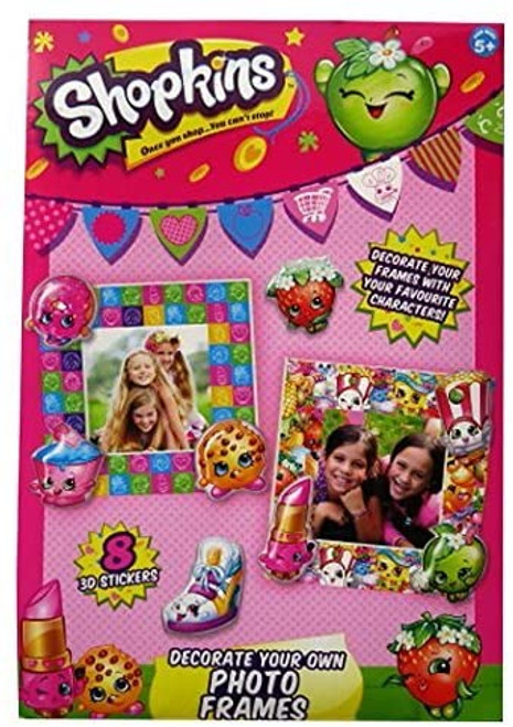 Decorate Your Own Shopkins Frame