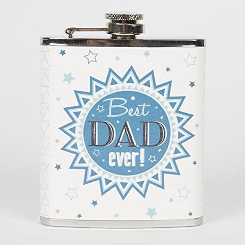 Maia Gifts Best Dad Ever Hip Flask