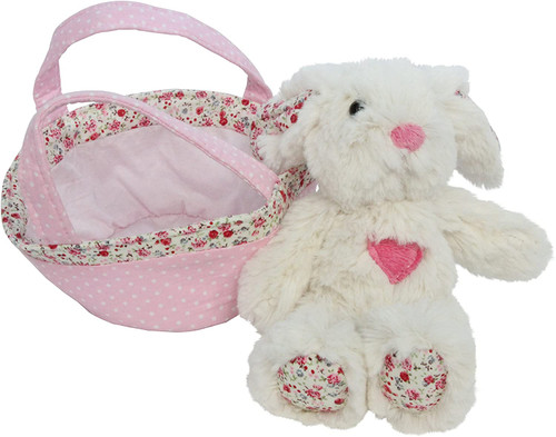 Soft Plush Rabbit Toy in a Bag Children's Gift