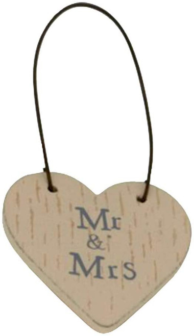 LITTLE MESSAGE HEARTS SIGN TAGS - BEST MUM - MR & MRS - MOTHER