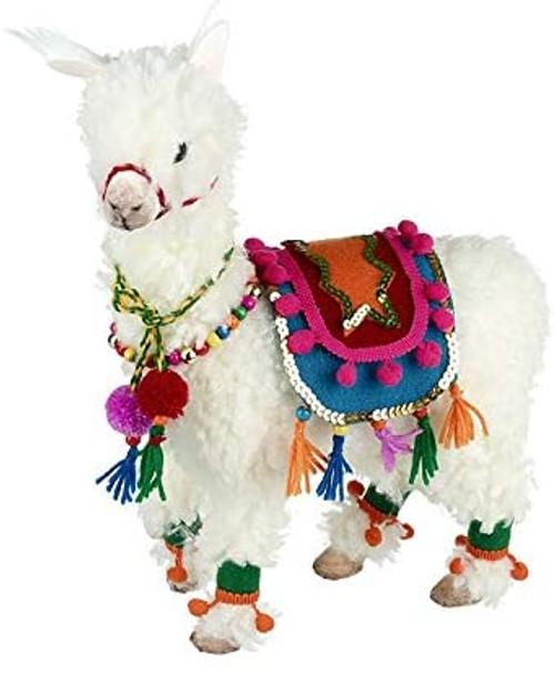 Festive Fabric Llama Large