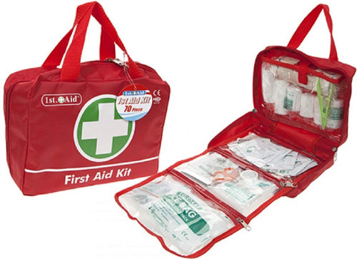 DELUXE 70PCE 1ST AID MEDICAL KIT - FOR THE HOME *VARIOUS