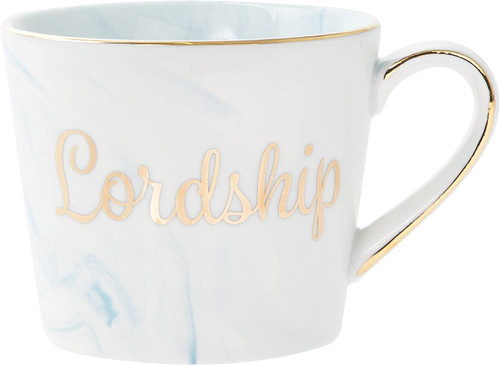 Marble and Gold Lordship Mug