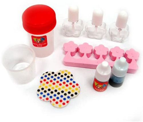 Make Your Own Nail Polish Childrens Kids Science Nail Painting Design Kit