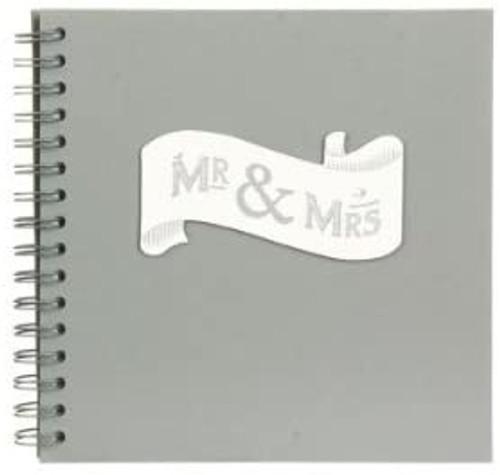 Mr & Mrs Wedding Guest Book