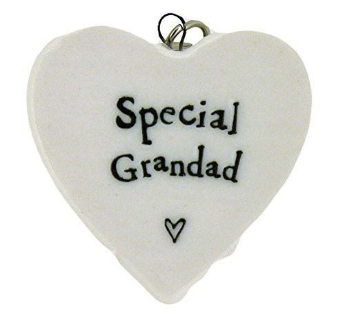 Copy of Special Grandad Porcelain Heart Keyring