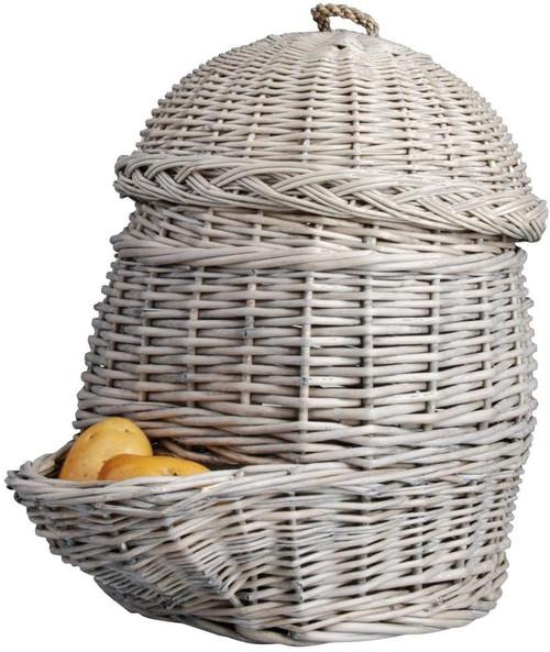 Esschert Design Potato Basket, Gray