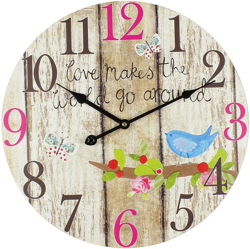 Bingham Wall Clocks, MDF, One Size