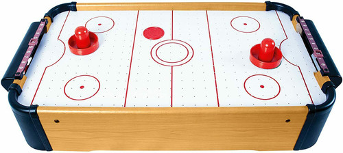 air hockey, table top air hockey