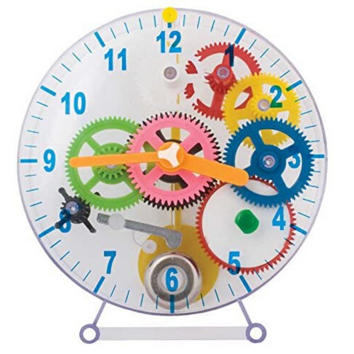 Make Your Own Mechanical Clock 31 Pieces by B4E