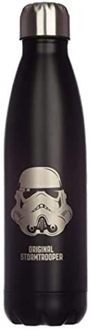 The Original Stormtrooper Reusable Stainless Steel Hot & Cold Thermal Insulated Drinks Bottle 500ml - Black