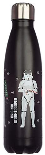 The Original Stormtrooper Christmas Reusable Stainless Steel Hot & Cold Thermal Insulated Drinks Bottle 500ml