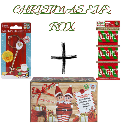 Christmas Eve Box bundle - Elf Christmas Eve Box ,Santa's Secret Key & Elf Tape