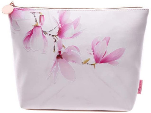 Marbled Magnolia Beauty Bag