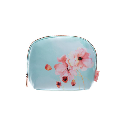 Large Oval Beauty Bag - Floral Awakening