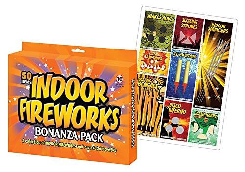 50 Indoor Fireworks