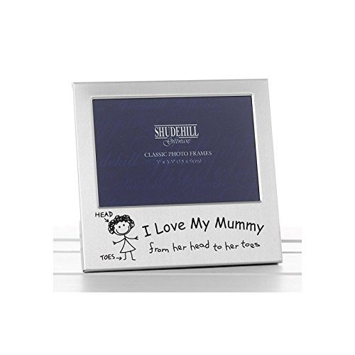 I Love my Mummy Photo Frame Christmas Birthday Mothers day Gift Present