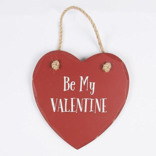Be My Valentine Heart Plaque