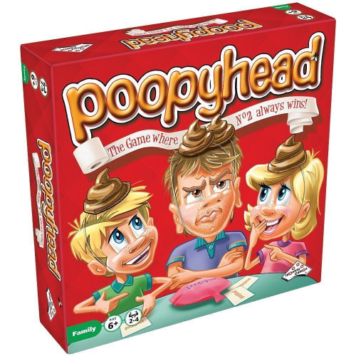 Poopy Head-Kids Funny Board Game, Family Fun