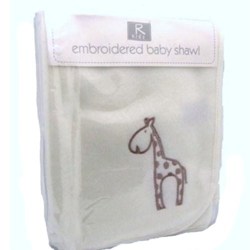 Elli & Raff Baby Shawl, Natural FREE DELIVERY