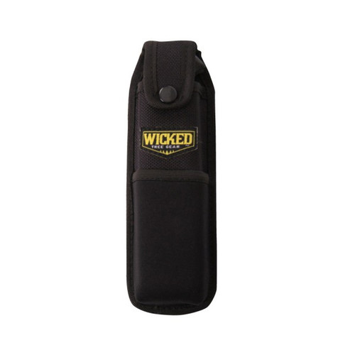 Heavy duty canvas sheath holds your Wicked Tough hand saw or bone saw during transport.