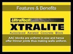 Ultratech Xtralite AAC Blocks 12 Inch