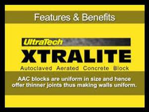 Ultratech Xtralite AAC Blocks 4 Inch
