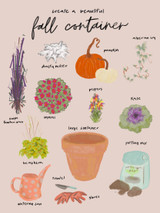 fall container design
