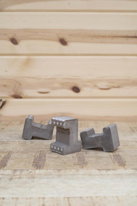 Terra Cotta Pot Feet Basalt